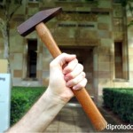 The hammer that shaped a university