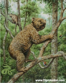 Reconstruction of Invictokoala (image: Laurie Beirne)
